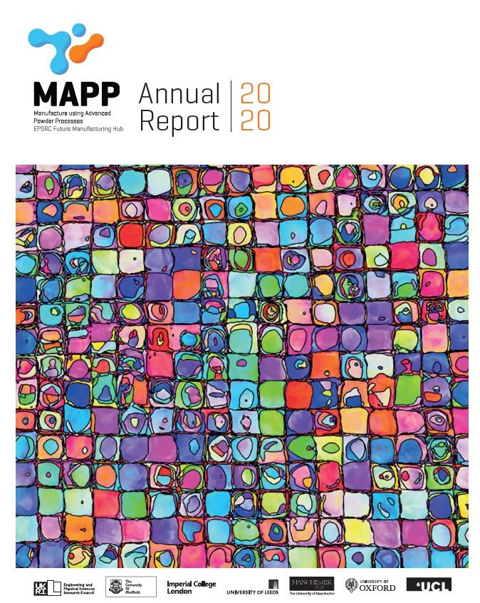 Annual Report 2020 (cover image)