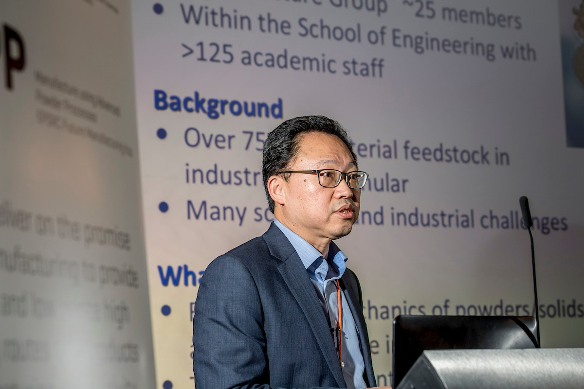 Prof. Jin Ooi from the University of Edinburgh - Prof. Jin Ooi from the University of Edinburgh at the MAPP First International Conference.