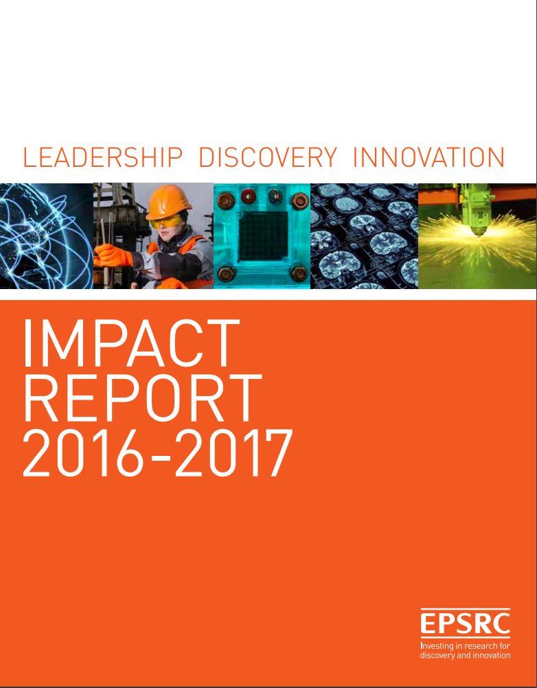 EPSRC Impact Report 2016-2017
