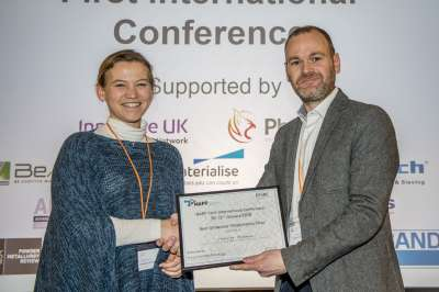 First place Flash Presentation Felicity Freeman, University of Sheffield.
