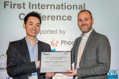 Flash Presentation runner up MAPP PDRA Dr Chu Lun Alex Leung, University of Manchester.