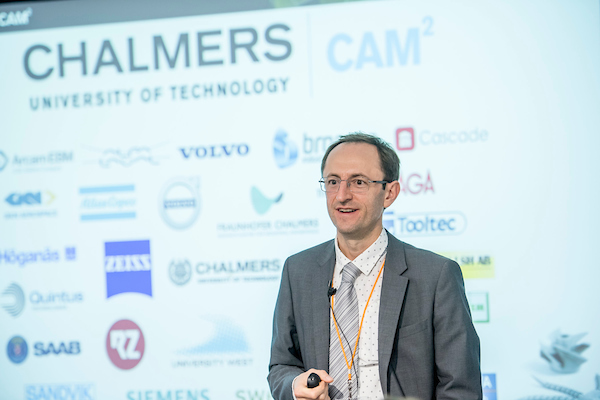 Keynote speaker EduardHryha at the Alloys for Additive Manufacturing Symposium [AAMS2018]