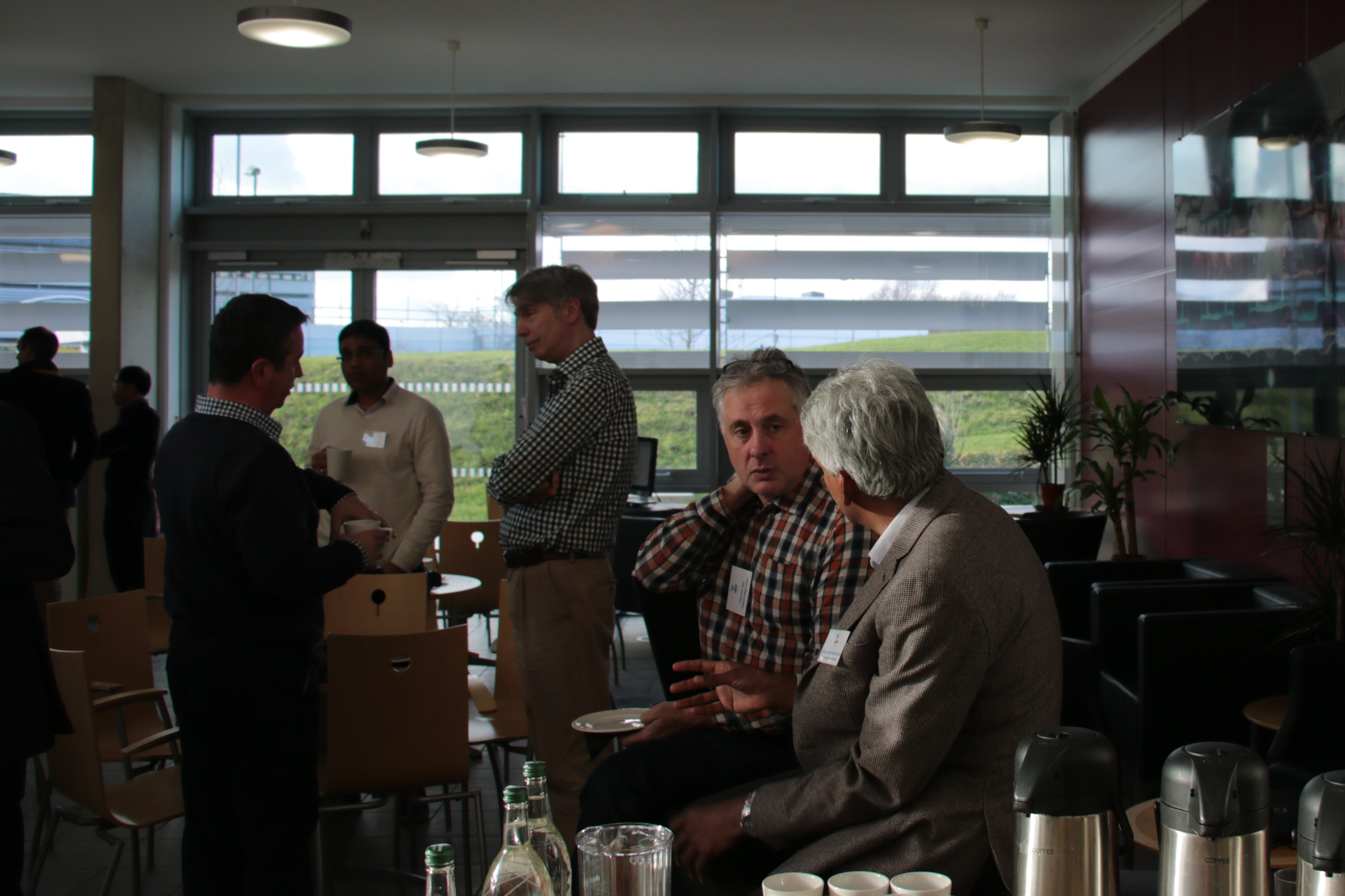 First Quarterly Research Meeting for MAPP's Investigators and Researchers - Networking lunch at the first Quarterly Research Meeting for MAPP's Investigators and Researchers