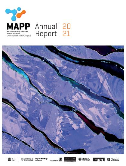 Annual Report 2021 (cover image)